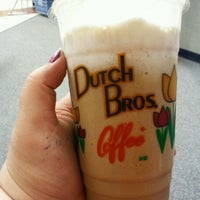 Photo taken at Dutch Bros. Coffee by Tara N. on 6/27/2012