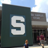 Photo taken at MSU Surplus Store by Cindy K. on 7/13/2012