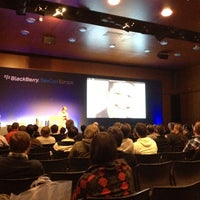 Photo taken at BlackBerry DevCon Europe at the Amsterdam RAI Convention Centre by Oscar B. on 2/8/2012