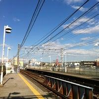 Photo taken at Keisei Sekiya Station (KS06) by Yoshikazu K. on 5/12/2012