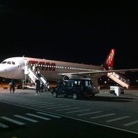 Photo taken at Aeroporto de Porto Seguro (BPS) by Omar H. on 6/10/2012