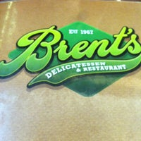 Photo taken at Brent's Deli by Armando C. on 9/4/2012