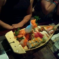 Photo taken at Sushi Monster by Wendy P. on 5/9/2012