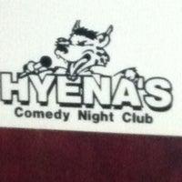 Photo taken at Hyena's Comedy Nightclub by Scott H. on 2/12/2012