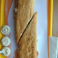 Photo taken at Sandwich Qbano Miami by Sebastian F. on 8/5/2012