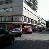 Photo taken at Parisina telas by Varo M. on 5/17/2012