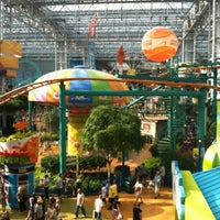 Photo taken at Nickelodeon Universe® by Kevin S. on 7/28/2012