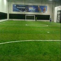 Photo taken at Futbox Futsal Center by Carlos M. on 5/5/2012