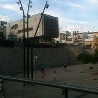 Photo taken at Plaça de la Muralla by Xavier B. on 8/28/2012