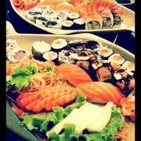 Photo taken at Oishii Sushi by Tatiana T. on 7/10/2012