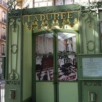 Photo taken at Ladurée by Fabiola M. on 7/15/2012