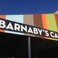 Photo taken at Barnaby's Cafe by Andrew P. on 3/14/2012