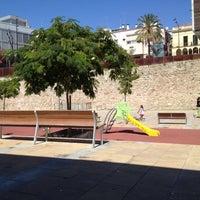 Photo taken at Plaça de la Muralla by b. m. on 8/16/2012