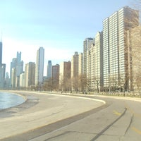 Photo taken at Chicago Lakefront Trail by Aaron C. on 4/15/2012