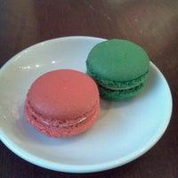 Photo taken at Margo Patisserie Cafe by Lauren M. on 8/15/2012