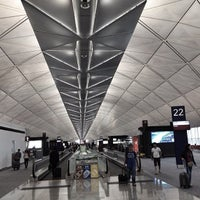 Photo taken at Hong Kong International Airport (HKG) by Sterling Z. on 9/4/2012
