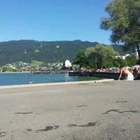 Photo taken at Strandbad Bregenz by Roger K. on 8/19/2012