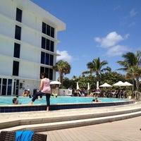 Photo taken at Pool @ Sheraton Ft. Lauderdale by Joe D. on 3/12/2012
