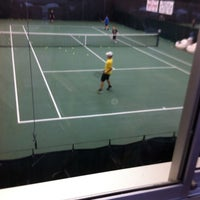 Photo taken at Northeast Racquet Club by Beverly S. on 6/18/2012