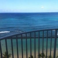 Photo taken at Aston Waikiki Beach Hotel by Jennifer R. on 7/19/2012