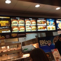 Photo taken at Burger King by Leonardo V. on 7/9/2012