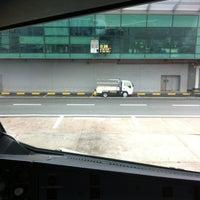 Photo taken at Gate D36 by Hidayat A. on 8/1/2012
