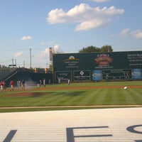 Photo taken at PeoplesBank Park by Phong D. on 8/21/2012