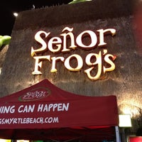 Photo taken at Señor Frog's by Vint on 7/28/2012