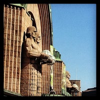 Photo taken at VR Helsinki Central railway station by Michael S. on 8/13/2012