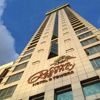 Photo taken at Crown Regency Hotel by Kent E. on 3/23/2012