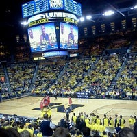 Photo taken at Crisler Center by Samantha B. on 2/19/2012