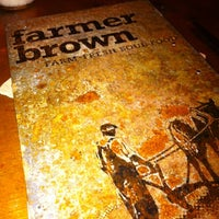 Photo taken at Farmer Brown by Gianna D. on 6/14/2012