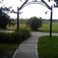 Photo taken at McClendon Park by Enrique G. on 8/2/2012