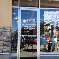Photo taken at Five Guys by Asif on 8/24/2012