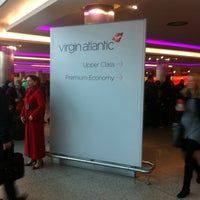 Photo taken at Virgin Atlantic Check-In by Philip g. on 3/23/2012