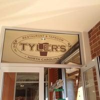 Photo taken at Tyler's Restaurant & Taproom by Sun P. on 2/3/2012