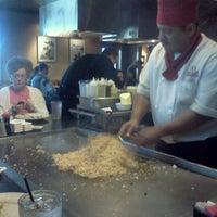 Photo taken at Wasabi Japanese Steakhouse & Sushi Bar by Shane L. on 5/11/2012
