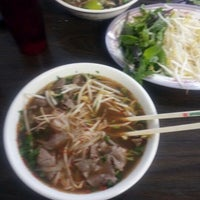 Photo taken at Pho Ca Dao by Steve T. on 4/13/2012
