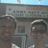 Photo taken at Rosebuds Army Surplus by Joewe M. on 6/19/2012