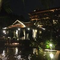 Photo taken at Anantara Bangkok Riverside Spa & Resort by Udompong W. on 8/29/2012