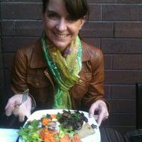 Photo taken at Chloé's French Café by Peter L. on 4/3/2012
