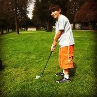 Photo taken at Rancho Park & Golf Course by Rabbi Yonah B. on 5/4/2012