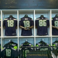 Photo taken at The Pro Shop at CenturyLink Field by Andrea L. on 4/27/2012