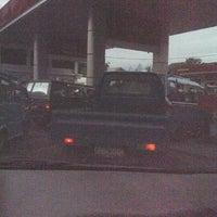 Photo taken at SPBU Pertamina 74.955.05 by Rivelino P. on 2/17/2012