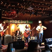 Photo taken at The Hideout by Jody R. on 4/21/2012