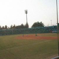Photo taken at Cheongju Baseball Stadium by Juicy 2. on 4/18/2012