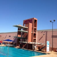Photo taken at Hillenbrand Aquatic Center by Brandon D. on 4/29/2012