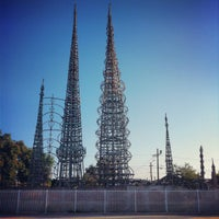 Photo taken at Watts Towers of Simon Rodia State Historic Park by Lucas M. on 7/22/2012