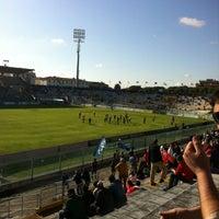 Photo taken at Arena Garibaldi - Stadio Romeo Anconetani by Cristina D. on 5/2/2012