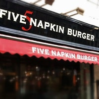 Photo taken at 5 Napkin Burger by Robert R. on 4/22/2012
